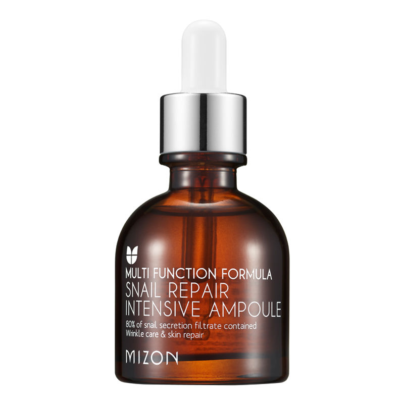 MIZON Snail Repair Intensive Ampoule 30ml Snail Cream Moisturizing Whitening Face Care Anti wrinkle Nourish Snail