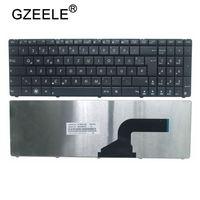 GZEELE teclado del ordenador portátil reemplazo alemán Qwertz GE teclado para Asus A52N B53 F55A F55C F75 F75A F75V N52 N73JF N73JG
