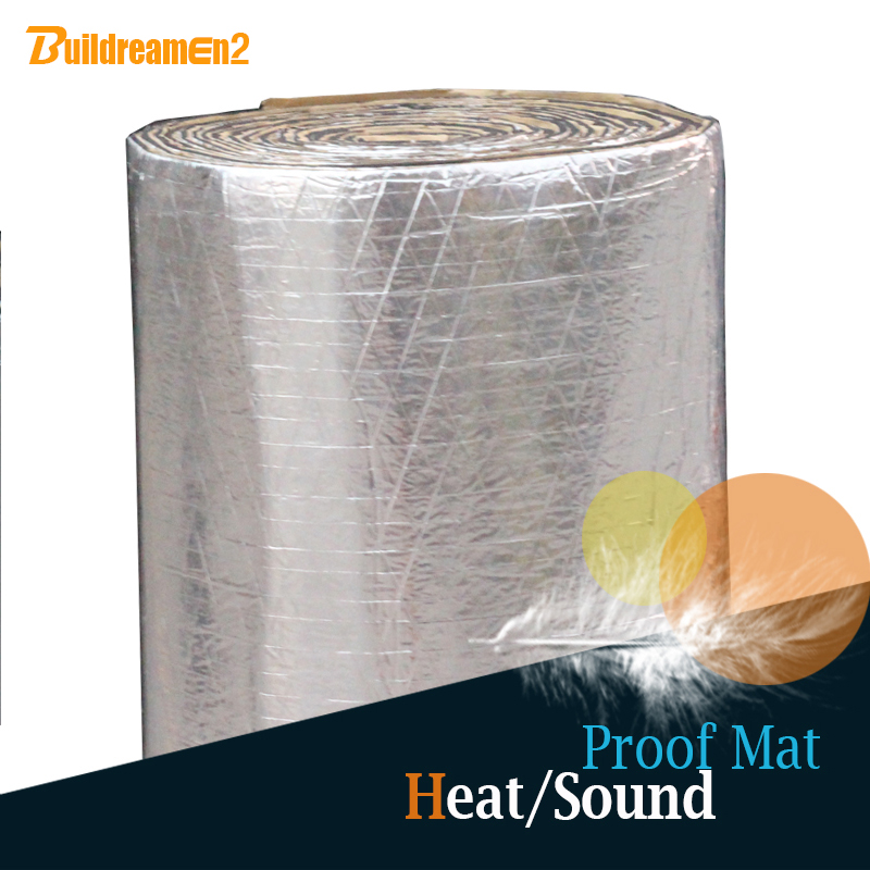 Thermal Acoustic Insulation : Buildreamen roll sqm quot car truck boat heat