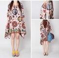 2016 Summer Korean Pregnant Dresses Print Cotton Nursing Clothing Pregnancy Dress Maternity Clothes For Pregnant Women Vestdios