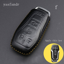 car accessories key cover araba aksesuar case  styling for Ford Explorer/Taurus/Mondeo Keyless Entry Car Styling 4 Button