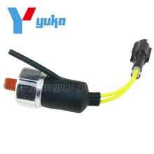 Excavator Engine Oil Warning Pressure Switch Sensor For Isuzu 6BG1 4BG1 KOBELCO SK100-5 SK120-5 1-82410170-1 97749781