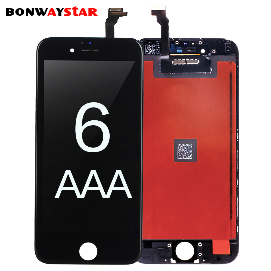 LCD Screen For iPhone 4S 6p Display LCD Touch Screen Digitizer Assembly Replacement pantalla for iPhone 6s 6p 6 lcd screen+tools