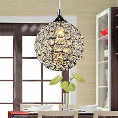Luminaria LED Bright 1 Light Modern Crystal Pendent Lights Lamp , Lustres e Pendentes Luz,Lustre De Cristal Free Shipping