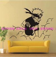 Naruto anime curtilage Japanese animation art background wall card posted large naruto children room IB1