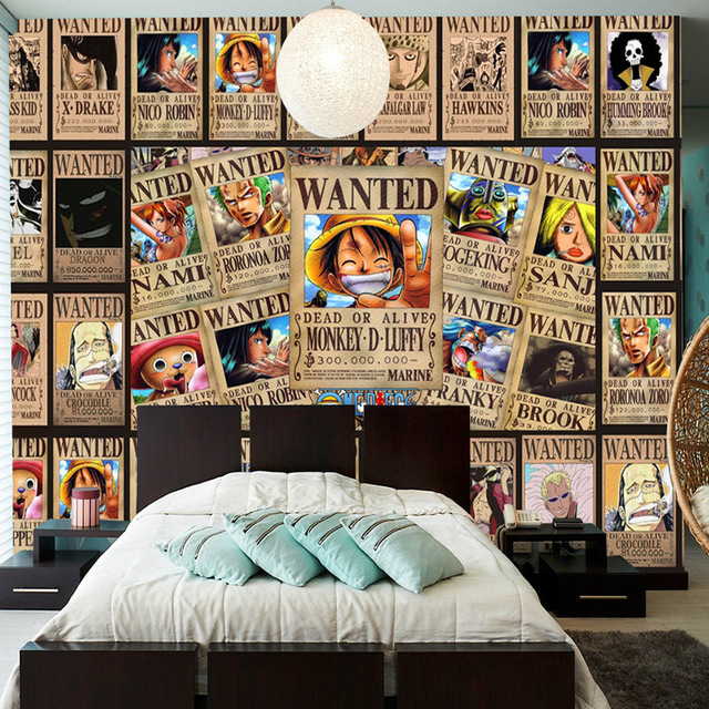 Anime Fan Bedroom Bedroom Ideas With Chandeliers Sheer White Bedroom Curtains Versace Bedroom Sets: Custom Wall Mural Japanese Anime 3D Wallpaper For Walls 3D
