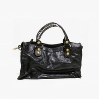 2018 New Designer High Quality PU Leather American Motorcycle Bag for Women Large Capacity Tote Shoulder Bags Fashion Handbag