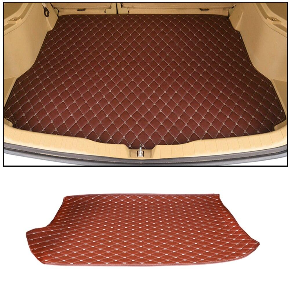 Tapis de coffre spécial pour tapis de coffre tapis de boîte de queue décoration accessoires de voiture pour SSANG YONG Motor Company ActYon 2006 ~ 2013