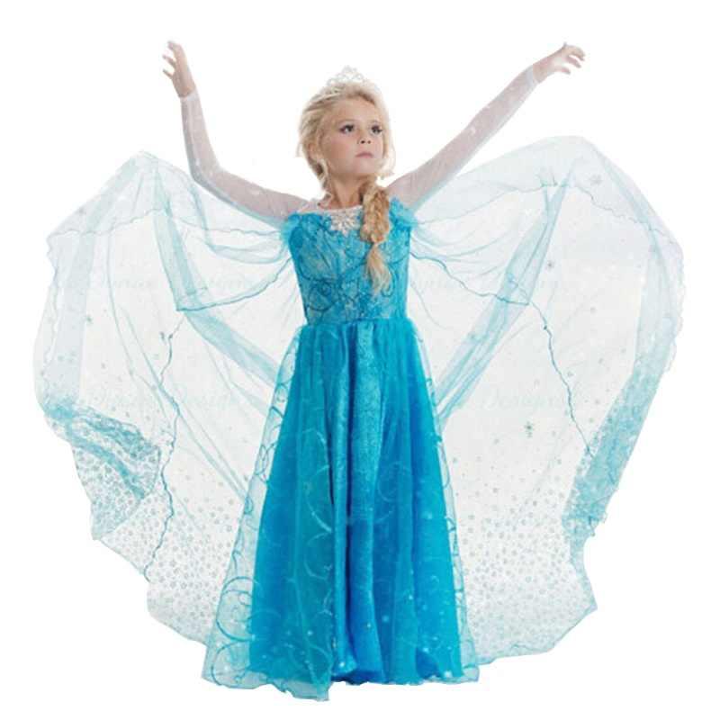 2019 Hot Lạ Mắt quần áo Bé Gái Trang Phục Hóa Trang Trẻ Em Đầm Công Chúa cho Bé Gái Giáng Sinh Năm Mới Mặc