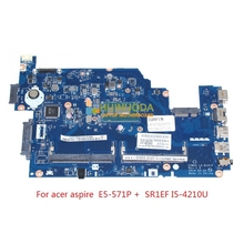 Z5WAH LA-B161P NBML811004 NB.ML811004 Laptop motherboard For acer aspire E5-531 E5-571 E5-571P SR1EF I5-4210U Mainboard