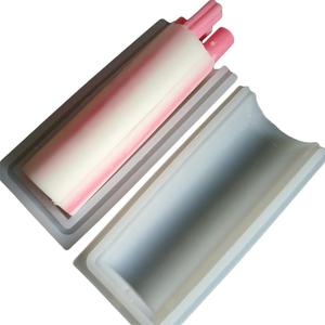 Image 5 - 1KG 1000ml עגול צורת יד סבון צינור דגם סיליקון עובש ארוך צילינדר תהליך קר סבון לצבוע עבור סבון נר בית DIY קרפט