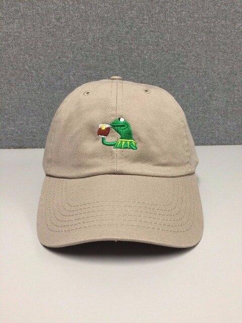 2b227c8fa6f KERMIT TEA Hat (slide buckle) none of my business emoji king lebron james  meme