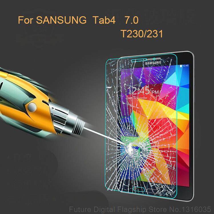 Samsung Galaxy Tab 4 üçün BINFUL 0.3mm 9H Tempered Ekranın - Planşet aksesuarları - Fotoqrafiya 2