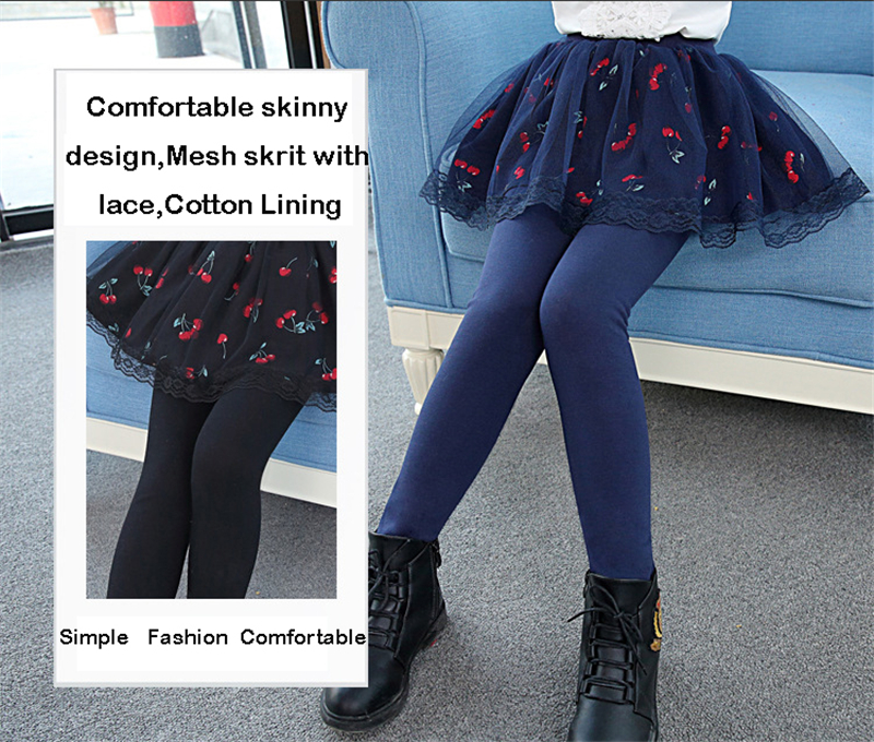 teenage girls legging with skirt05