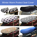 Winter Warm Motorcycle Seat Cover Sun Protect Flannel Fleece Heat insulation Scooter Cushion Seat Cover Bike Seat Cover
