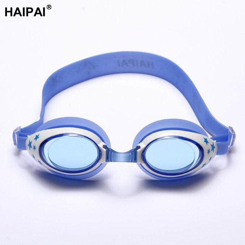Haipai boys girls prescription swim goggles childrens glasses for sight sport swimming Eye protective glasses for the pool