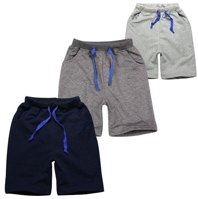 47824e85e27 High quality children boys summer sport shorts cotton brand big boy short  pants 4pcs lot hot sale kids shorts boys 2015