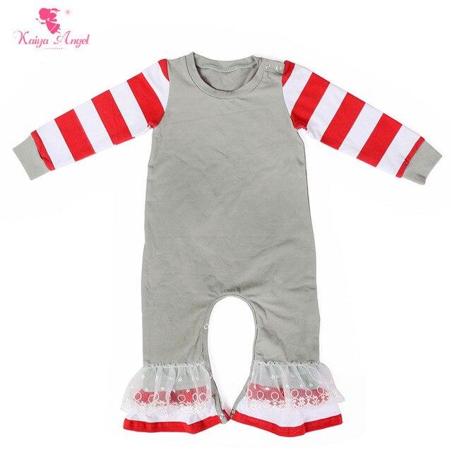 e119141f2120 Kaiya Angel Baby Rompers Newborn Jumpsuit 2017 Fell Sleeve Fall ...
