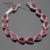 Creado Rubí Sistemas de la Joyería de Color Rojo Blanco de plata CZ Colgante Collar Pendientes Pulseras Anillos Para Mujer Caja de Regalo Libre