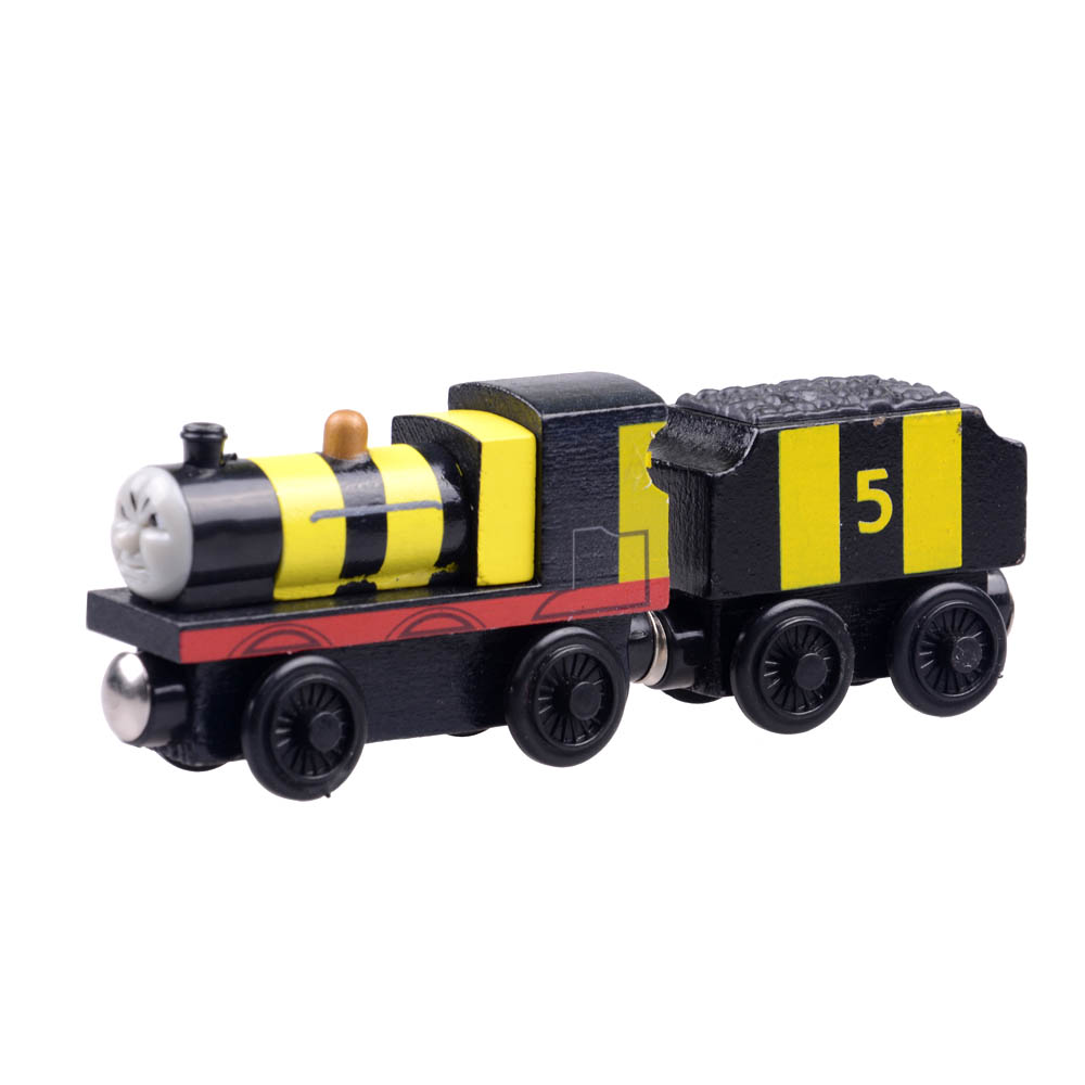 Tomas Railway Train head bee James and his car vehicle model toys for baby