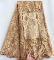 Clearance African tulle lace french lace fabric high quality 5 yards/PC