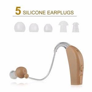 Новый перезаряжаемый слуховой аппарат, мини-устройство, усилитель для ушей, Цифровые слуховые аппараты для глухих и пожилых людей, acustico, европейская вилка