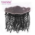 YVONNE Brazilian Lace Frontal 13.5*4,7A Unprocessed Virgin Hair,Malaysian Curly Brazilian Hair Lace Frontal Closure