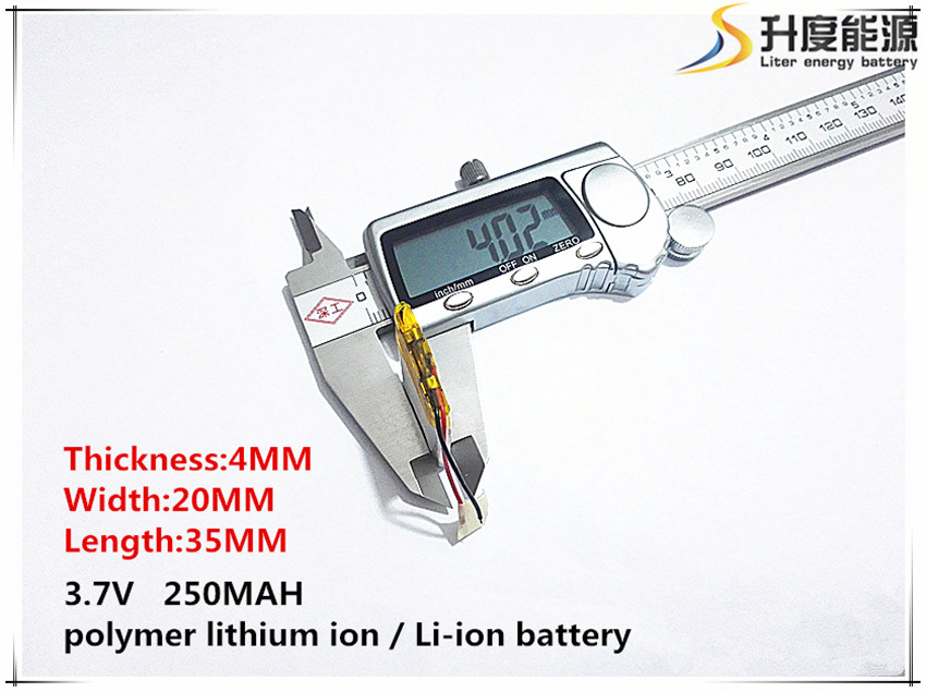sd 402035 10pcs 3.7v,250mah, Polymer Lithium Ion / Li-ion Battery For Toy,power Bank,gps,mp3,mp4,cell Phone,speaker Special Buy
