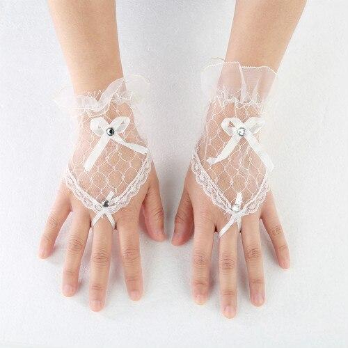 Lace Handschoenen Wrist...