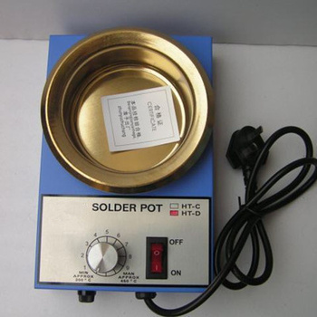 цена 220V 150W/300W Solder Pot Tin Melting Furnace thermoregulation Soldering Desoldering Bath 50mm/100mm 200~450 centigrade онлайн в 2017 году