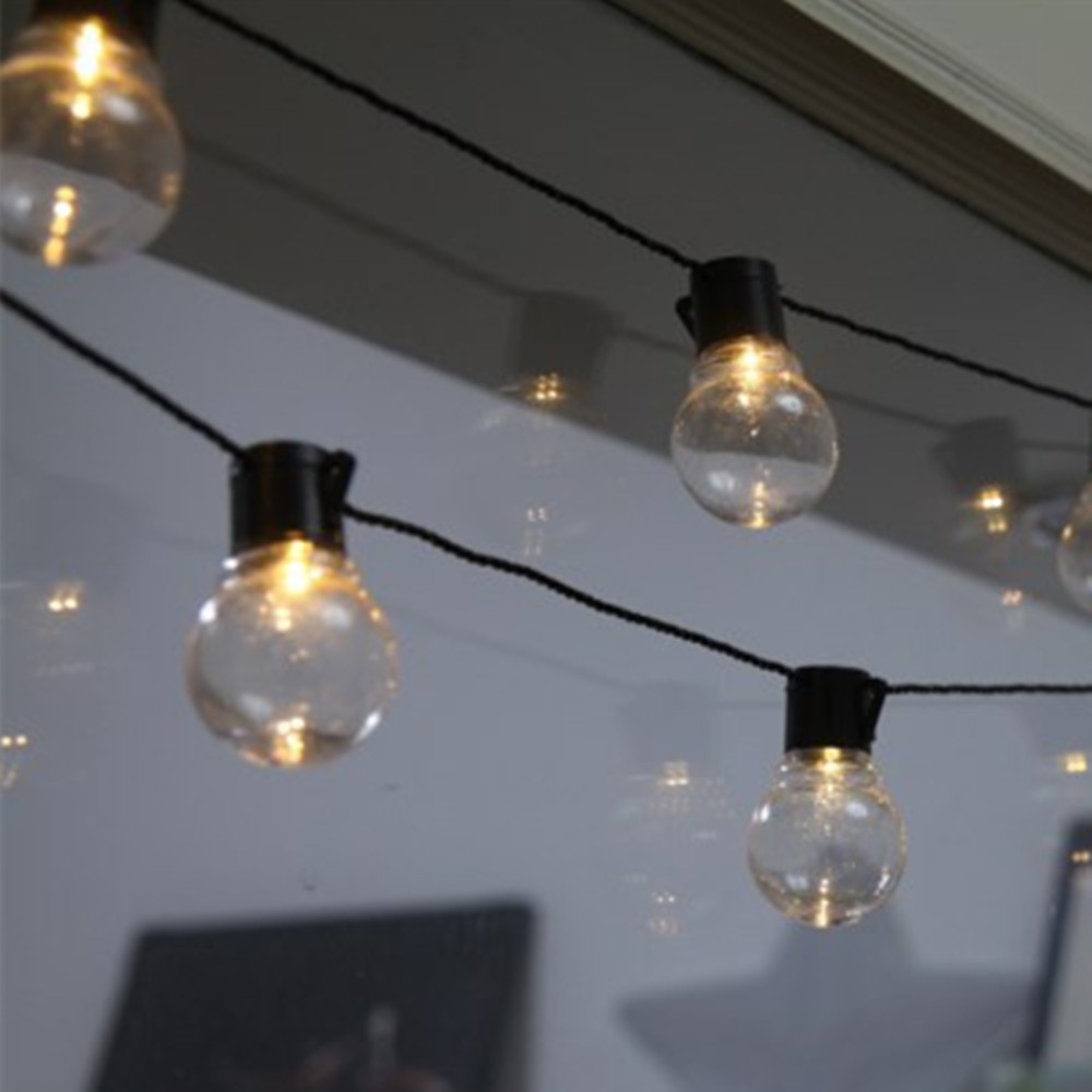 YIYANG 5M 20 Balls LED String Light AC220V Transparent G50 Led Globes Bulb Outdoor Waterproof Backyard Patio Party Events Decor.-in LED String from Lights & Lighting on Aliexpress.com | Alibaba Group