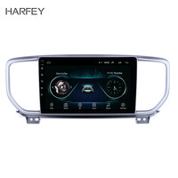 Harfey 9 inch GPS Navigation Radio Android 8.1 for Kia Sportage R 2018 2019 with Bluetooth HD Touchscreen USB support Carplay
