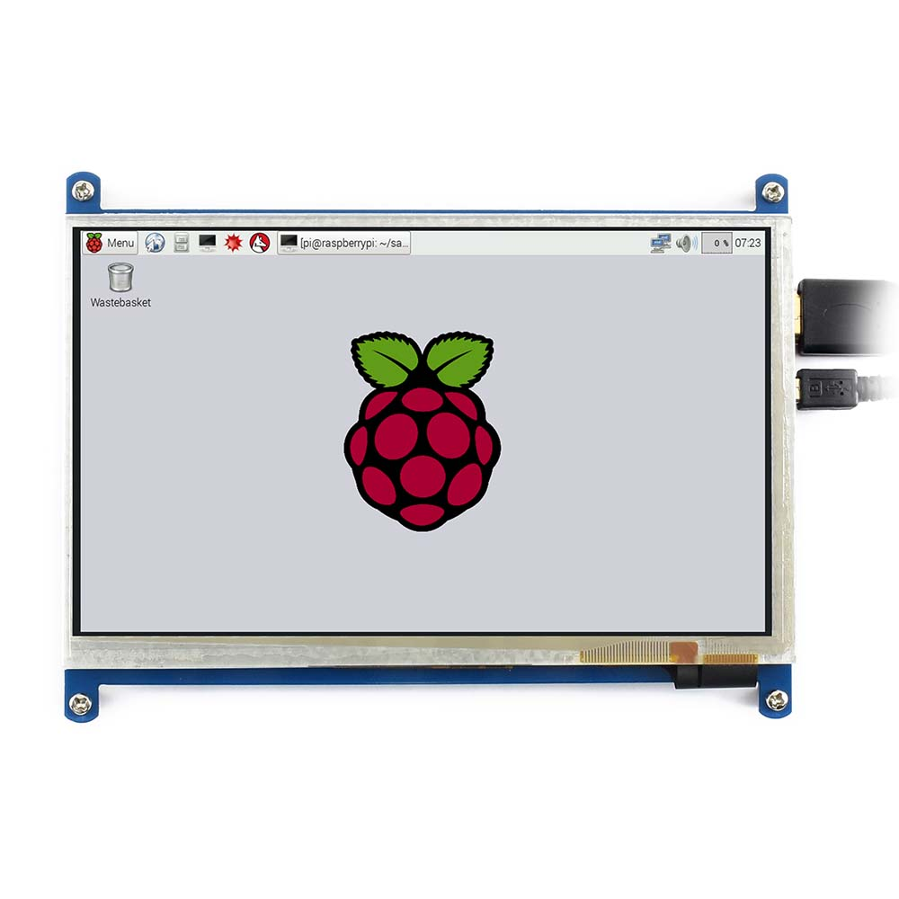 Image 5 - Waveshare7inch HDMI LCD (B) ,800*480, 7'' Capacitive Touch Screen,HDMI interface, for Raspberry Pi,Support Windows10/8.1/8/7-in LCD Monitors from Computer & Office