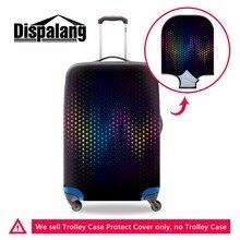 Персонализированные упругие багажа защитные для путешествий водонепроницаемый чемодан защитная против царапин женщин камера Крышка 18-30 дюймов