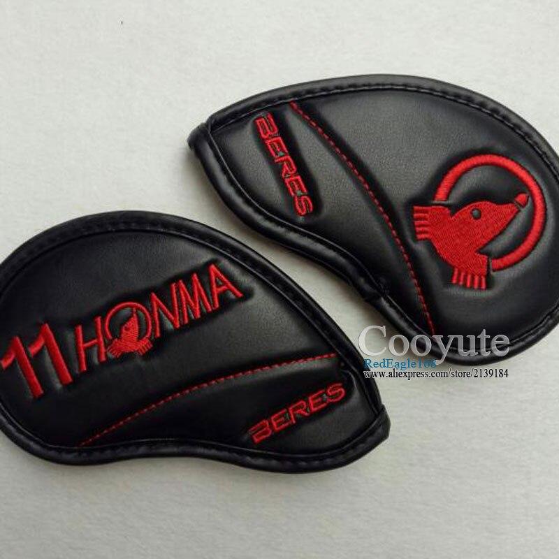 Nova alta qualidade HONMA headCover Golfe PU