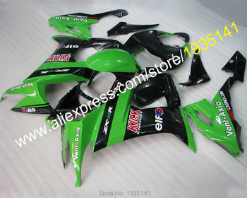 For Kawasaki Ninja body kit ZX10R 2008 2009 2010 ZX-10R 08 09 10 ZX 10R Motorcycle Cowling Parts (Injection molding)