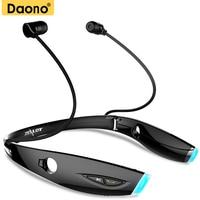DAONO H1 Sweatproof Stereo Bluetooth Earphone HiFi Neckband Wireless Headphones Running Headset APT X With Microphone