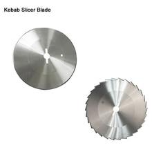 купить ITOP High Quality 2pcs/lot Stainless Steel Blade Teeth Round Blade For Kebab Slicer For Shawarma Machine Kitchen Knife дешево