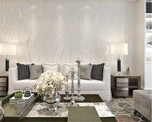 beibehang Living room non-woven TV modern minimalist bedroom living tree stripe deerskin papel de parede wallpaper