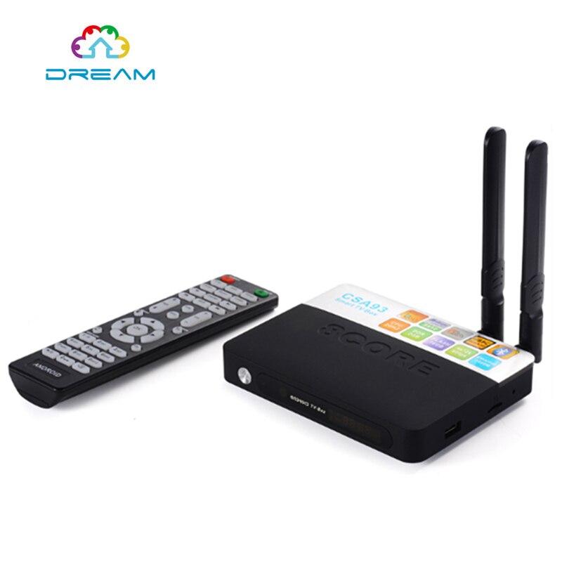 ФОТО  TV Boxes Android 6.0 CSA93 2GB RAM 16GB ROM Amlogic S912 Octa Core Streaming Smart Media Player Wifi BT4.0 4 K TV Box 5pcs