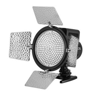 Image 3 - Yongnuo Luz LED bicolor para vídeo, iluminación de relleno con 4 filtros de color, YN 216 para cámara DV DSLR Canon Nikon, YN216 5500K/3200 5500K