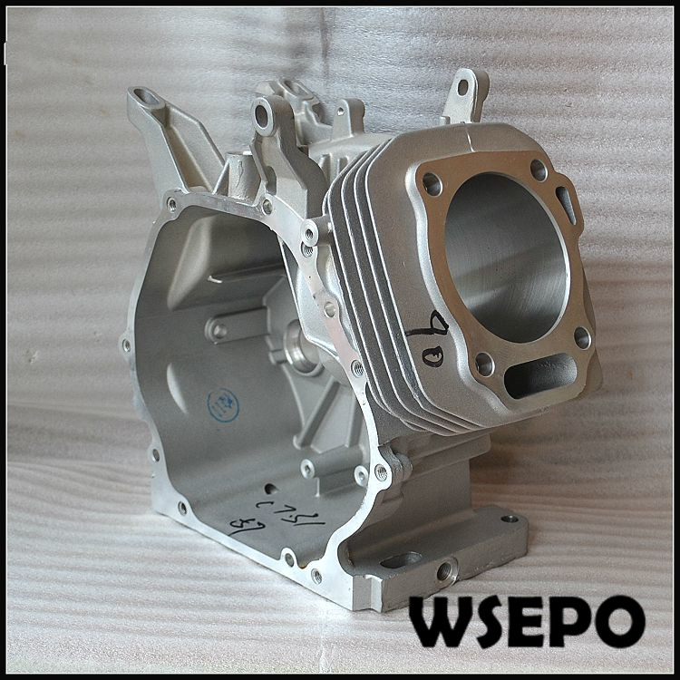 Chongqing Quality! Manual Start Type Crankcase 90mm bore for 190F/GX420 420CC 04 Stroke Small Gasoline Engine,7KW Gnerator Parts chongqing quality crankcase mainbody for 152f 2 5hp 97cc gasoline engine 1kw generator spare parts
