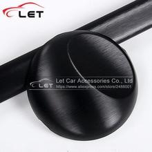 Новейшая черная серая серебристая металлическая матовая алюминиевая Виниловая пленка для отделки автомобиля, автомобильная наклейка, украшение из фольги