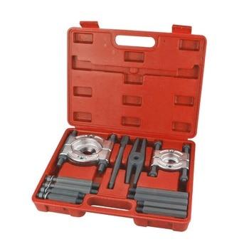 2 SIZE Bearing Separator Set Bearing Removal Tool Set 12pcs Bar-Type Splitter Gear Puller Fly Wheel Tool Kit automotive front wheel bearing hub removal tool set at2156