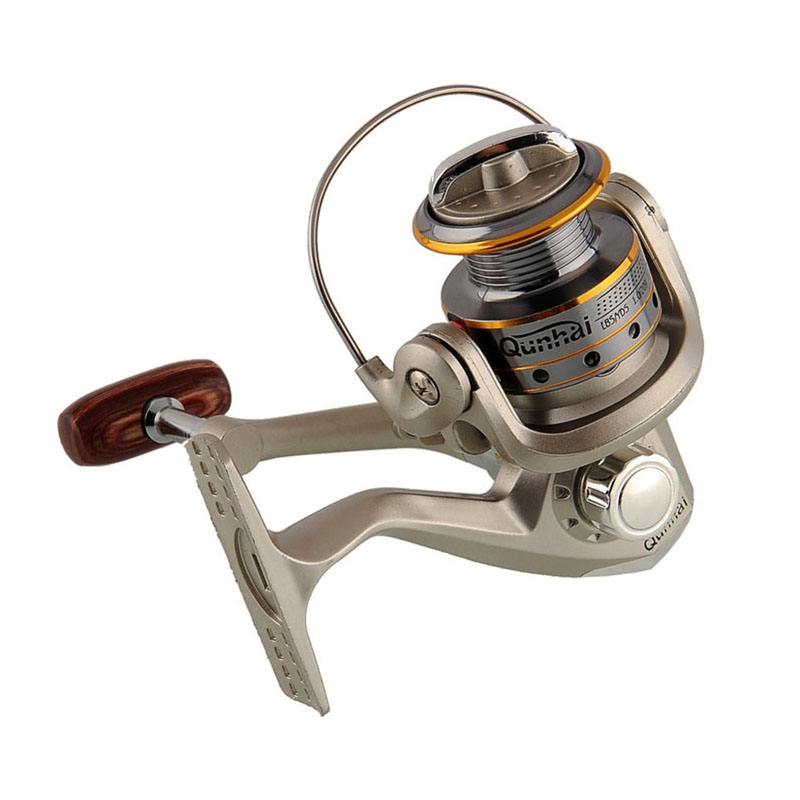 HENGJIA reels SG1000A fishing reel 6BB 5.1:1 FR030 fishing wheels spinning reel handle reel seat aluminum Gear Spinning Spoon