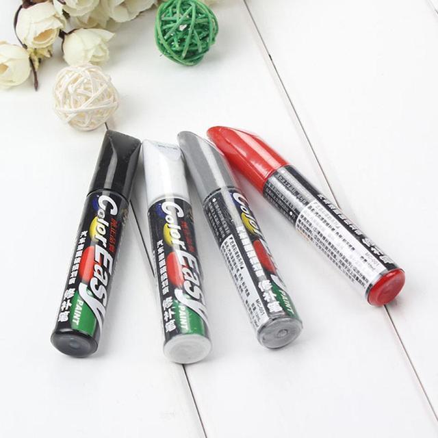 Stylo de réparation de rayure de voiture de 4 couleurs fixez-le Pro entretien de peinture outils d'entretien de voiture 2