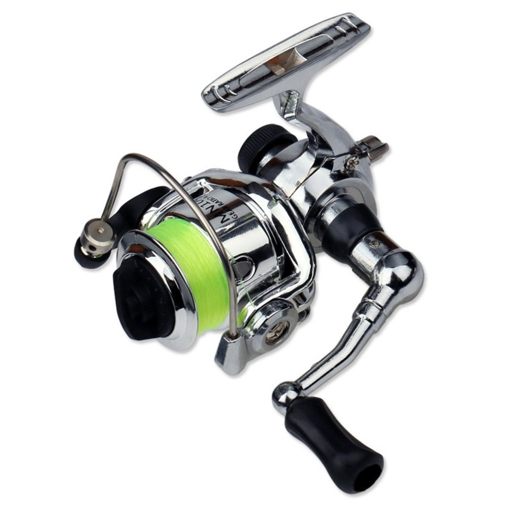 Mini XM100 Fishing <font><b>Reel</b></font> 2+1 Ball Bearings Stainless Steel Bait Casting Fishing <font><b>Reels</b></font> Fishing Tackle Accessories image