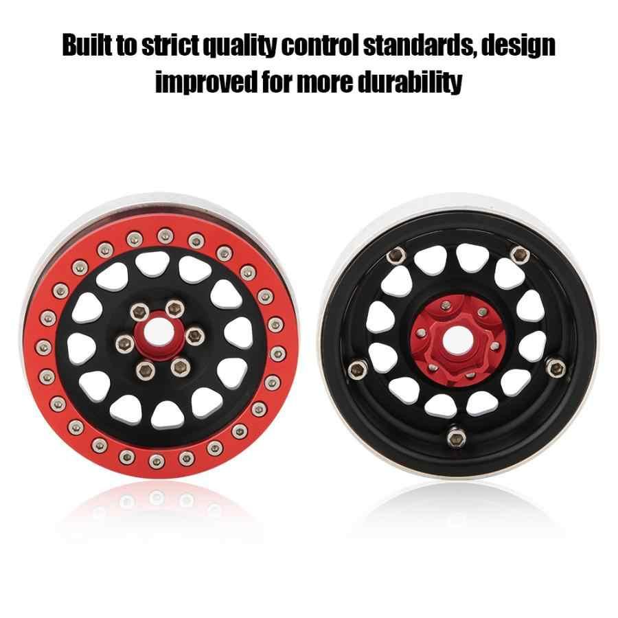 2,2 дюймов 1/10 Beadlock алюминиевый сплав ступица колеса автомобиля модели аксессуары шины Багги ступицы для осевой SCX10 имитация скалолазания автомобиля