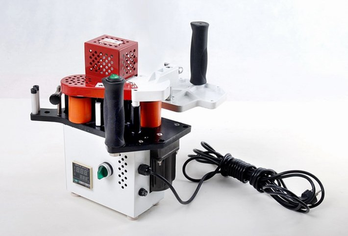 Manual edge bander KM08 speed control packing , portable banding machine - ABT Shop Of Kinkda store
