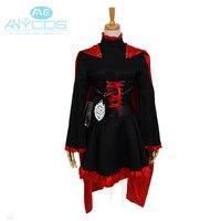 Rwby red Remolques rubí uniforme vestido Leggings abrigo traje anime Halloween Cosplay trajes para las mujeres por encargo